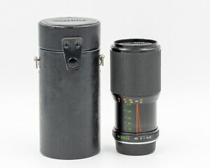 Yashica ML 70-210mm f/4.5 Telephoto Zoom Lens f/ Contax CY Mount