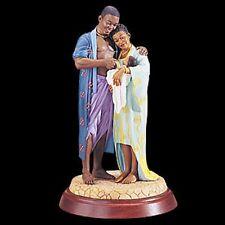 """Thomas Blackshear's Ebony Visions """"Bundle of Joy"""" Figurine NIB"""