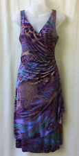 Size 12 Dress JV Collection NEW Stretch Wrap Smart Casual Evening Occasion Party