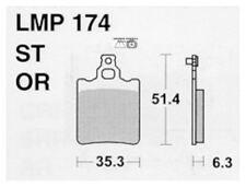 ATHENA PASTIGLIE FRENO ANTERIORI per ZUNDAPP KS 80 SUPER 1980-