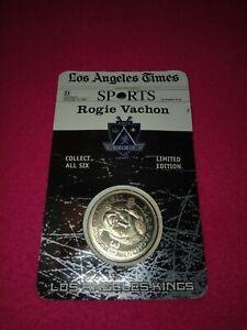 Los Angeles Kings Coin 1998-99 LA Times Coin Set  Rogie Vachon