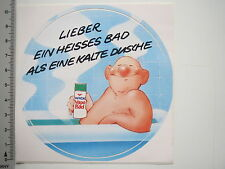Decal Sticker Wick Vapo Bathroom prefer a hot bath (7434)