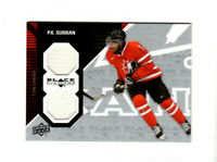 2011/12 Upper Deck Black Diamond Team Canada P.K. Subban Dual Relic Jersey Card!