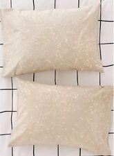 Urban Outfitters Splatter Dye Pillowcase Khaki Multi Cotton 20X30 Set of 2