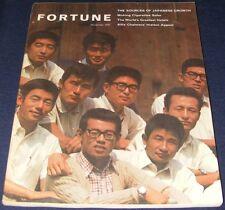 Fortune magazine November 1967 Japanese Growth  Safer Cigarettes  Best Hotels