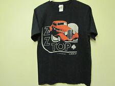 Black, Zz Top, T-Shirt, Size M.