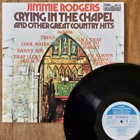 Jimmie Rodgers ~ Crying In The Chapel (Contour 2870 334) 1972 Near Mint Vinyl
