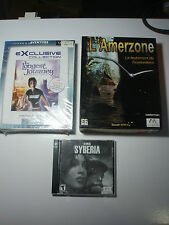 The longest journey PC point and click New bug Box + extras Francais FR Syberia
