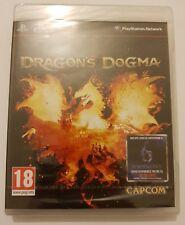 Dragon's Dogma Playstation 3 ps3 pal España Nuevo y Sellado de Fabrica