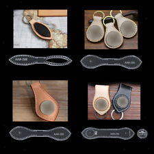 Acryl Schlüsselanhänger Muster Schablone Vorlage Leder Handwerk Werkzeug