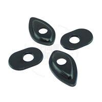 Turn Signal Adapter Plate Stalk For Honda CBR Light 600 RR Flasher Black V2