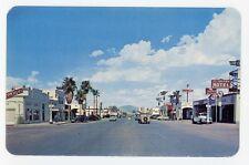 CA, Blythe. MAIN BUSINESS STREET. Chrome Postcard