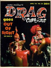 DRAG CARTOONS #26 GILBERT SHELTON WONDER WART-HOG 1966!