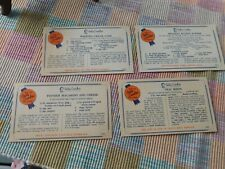 Vintage Betty Crocker Recipe Cards . . . Compliments of Dolly Madison Dairies
