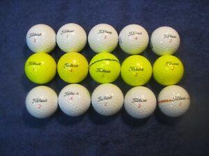 15 Titleist Trusoft Golf Balls-- AAAA Mint Condition = Great Buy