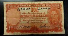 {BJSTAMPS}   1939 #26b Australia Ten Shillings
