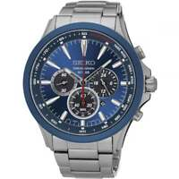 Reloj Seiko ssc495p1 de acero hombre colección solar