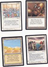 Lot de x4 cartes ARABIAN Army of Allah... MAGIC MTG ENGLISH 1993 EX-NM  VINTAGE