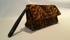 Leopard Clutch Purse Bag Rockabilly Pinup Vintage Style >> NEW ONLY @ Emporium44