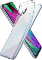 Samsung Galaxy A40 Transparent Hülle Durchsichtig Case Clear Cover Liquid