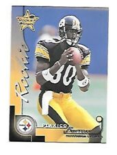 PLAXICO BURRESS 2000 ROOKIES & STARS ROOKIE #148 SERIAL #663/1000 STEELERS