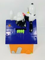 VINTAGE HALLOWEEN SNOOPY CANDY CONTAINER BANK....WHITMAN'S CANDIES