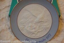 "Lladro Collector Plate, hand made in Spain, ""Dia de la Madre 1972"", Mothers Day"