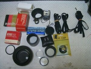 Bulk Lot Camera Spare Parts and other stuff; Sell for Charity