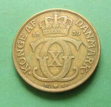 1939 Denmark 2 Kroner SNo32173