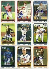 2012 Bowman chrome MATT DEAN Signed Card BLUE JAYS auto rc HIGHLAND VILLAGE, TX