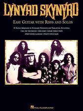 LYNYRD SKYNYRD - EASY GUITAR TAB SONG BOOK *NEW*
