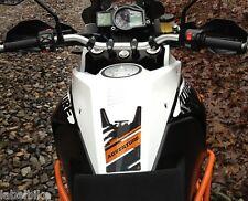 PARASERBATOIO ADESIVO 3D in RESINA GEL compatibile per MOTO KTM 1190 ADVENTURE