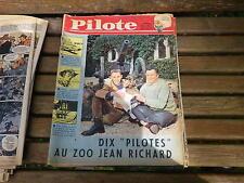 PILOTE N° 90 de 1961 Assez bon état d'usage avec pilotorama A LA CONVENTION
