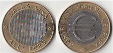 PRECURSORI EURO MEDAGLIA - MONETA  DALLA LIRA ALL'EURO VEDI FOTO
