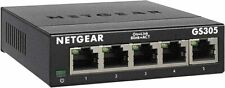 NETGEAR 5-Port Gigabit Ethernet Unmanaged Switch (GS305) - Home Network Hub