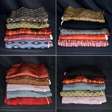 Vintage Japanese Haori Bundle Fabric Crafting - Five (5) Haori Jackets