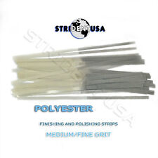 DENTAL POLISHING STRIPS POLYESTER 3.18 MM  FINE GRIT (ONE SIDE)  100/BOX