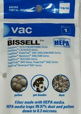 Vac Hoover Hepa Filter, Style 7/9/16. Fits Bissell