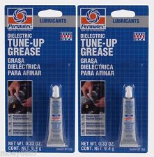 2 New! PERMATEX 81150 DIELECTRIC TUNE-UP GREASE Lube Lubricant Oil 0.33 ounces