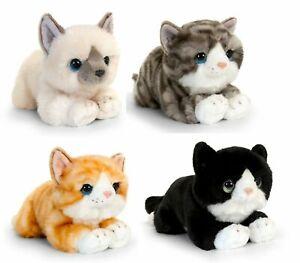 Keel Toys Signature Cuddle Kittens 25cm 4 Designs Cuddly Soft Toy Teddy
