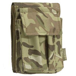 Highlander A6 Waterproof Army Cadet Notebook Holder Binder Map Case Holder Camo