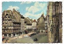 strasbourg , place de la cathédrale  --