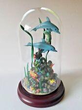 Paradise Reef by Michael Hollenbeck Danbury Mint Glass Dome