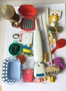 Vintage Sindy Barbie. house Accessories Bundle