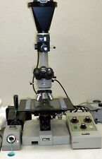 Nikon Labophot Microscope With Camera 4 Nikon Bd Objectives 10x 20x 40x 100x