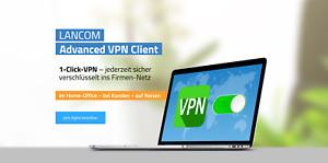 LANCOM VPN-Option 25 #60083, Advanced VPN-Client (AVC), AVC Upgrade, Home-Office
