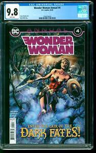 Wonder Woman Annual 4 CGC 9.8 NM/M Steve Orlando story Bryan Hitch cover DC