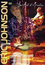 Eric Johnson - The Art of Guitar Interview Performance DVD NEW