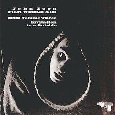 John Zorn CD FilmWorks XIII  Vol. 3 Invitation to a Suicide Erik Friedlander NEW