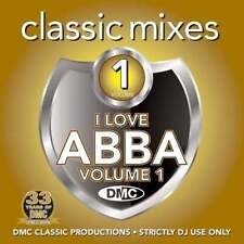 DMC CLASSIC MIXES - I LOVE ABBA VOLUME 1 2016 DMC Original DJ Only Mixes !